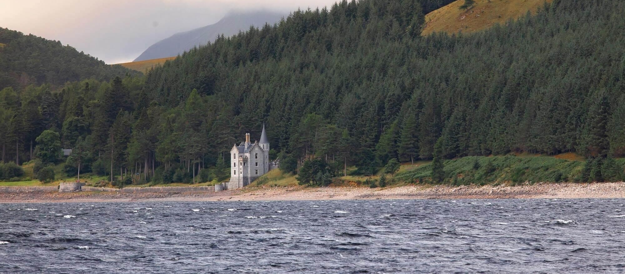 The Gate lodge on the northern shores of Loch Ericht
